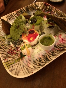 dessert matcha kaiseki #byhissa
